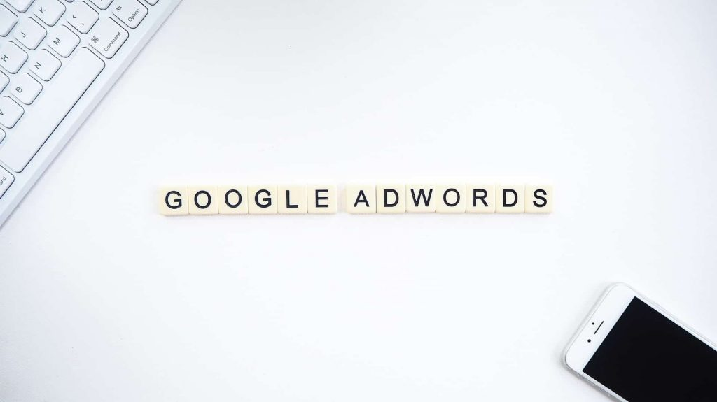 campagne publicitaire adwords